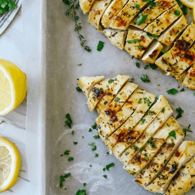 Lemon Mustard Chicken grilled
