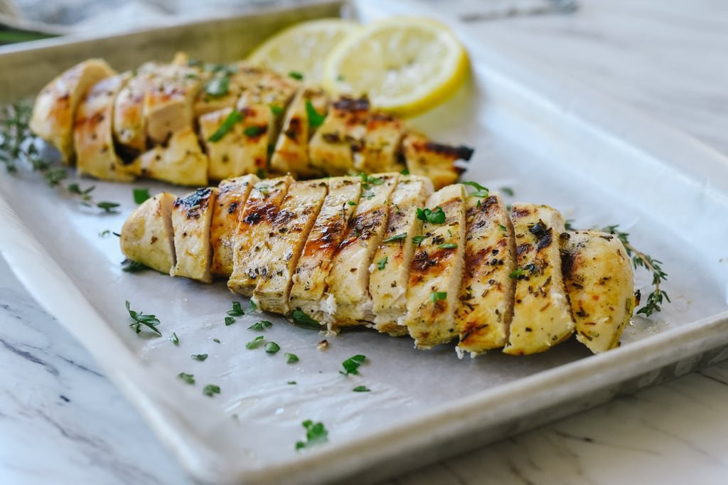 grilled Mustard Chicken