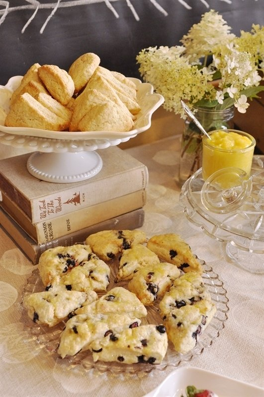 tea party scones