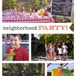 Going Away Party Idea Collage
