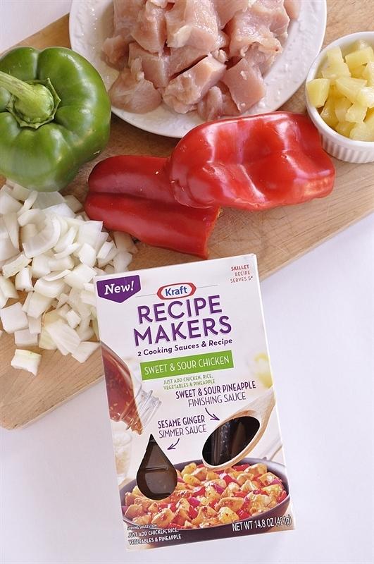 Sweet & Sour Chicken}Kraft Recipe Makers