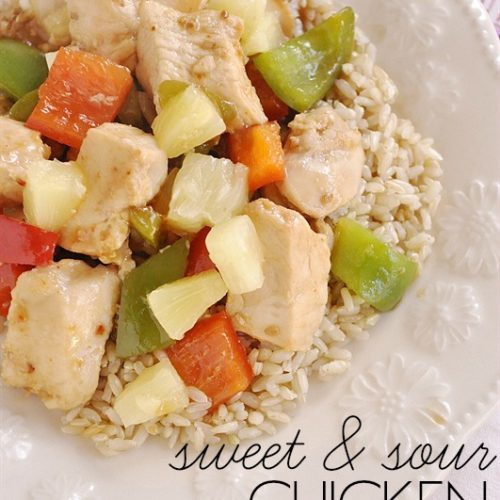 Sweet & Sour Chicken }Kraft Recipe Makers and $100 Visa Gift Card Giveaway