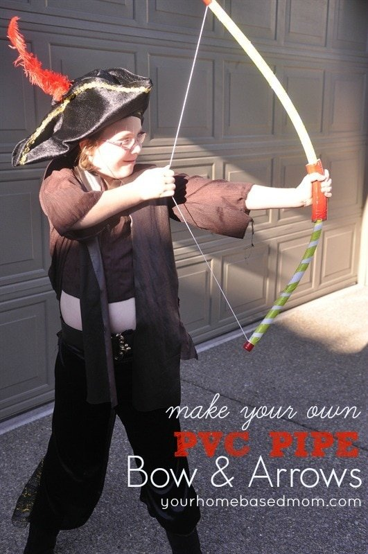 PVC Pipe Bow & Arrows