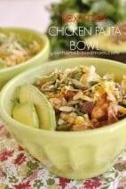 Tex-Mex Chicken Fajita Bowls}Kraft Recipe Makers &1,000 Visa Gift Card Giveaway!!