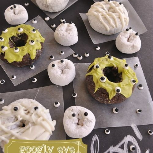 Googly Eye Donuts}Ghosts, Mummies & Monsters!!