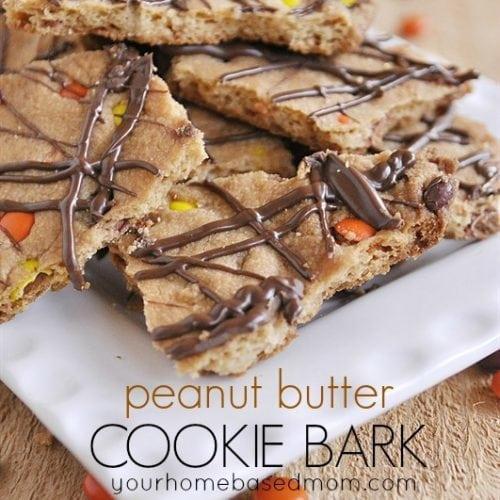 Peanut Butter Cookie Bark