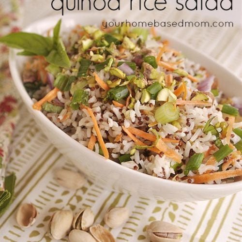 Coconut Lime Rice Quinoa Salad & $100 Gift Card Giveaway!