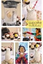 Cupcake Milkshakes