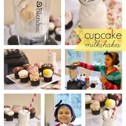 Cupcake Milkshakes and Blendtec Blender Giveaway – $500.00 value!