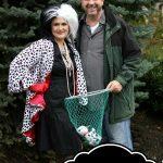 Cruella de vill halloween costume