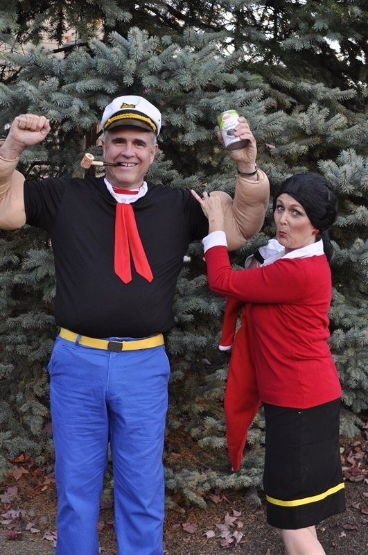 Popeye Olive Oyl Your Homebased Mom