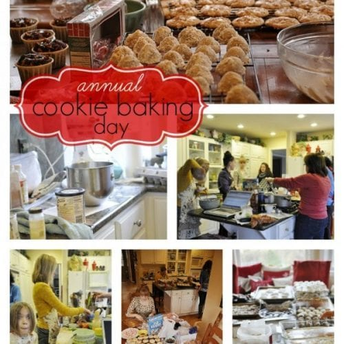 Annual Cookie/Candy Making Day – 2011