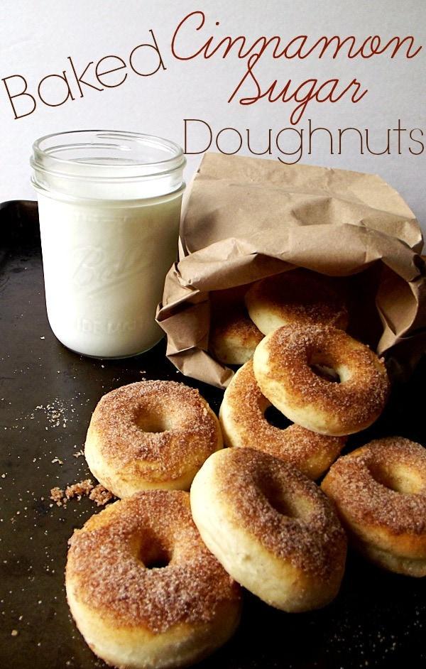 Baked-Cinnamon-Sugar-Doughnuts