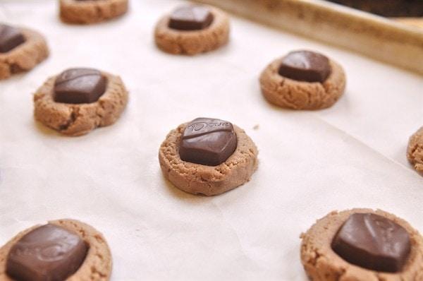 DOVE Chocolate Creamy Cookies