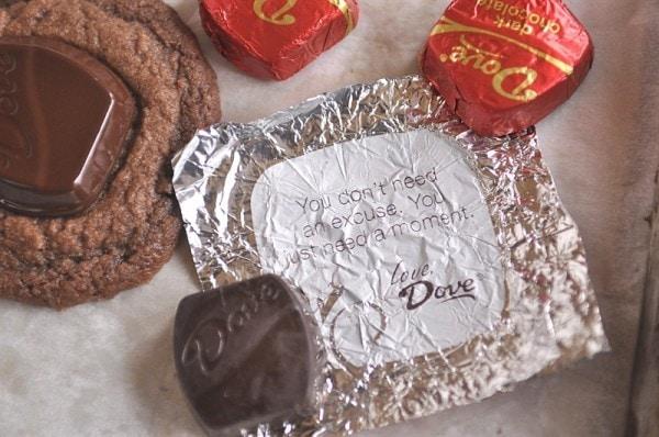 Dove Creamy Chocolate Cookies