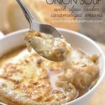 spoonful of french onion soup