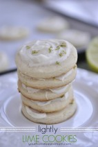 Lime Cookies @yourhomebasedmom.com