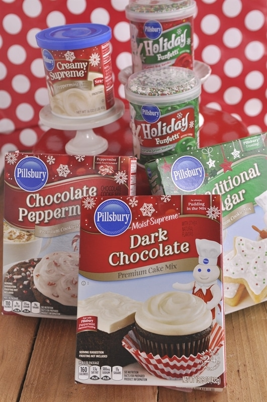 ... cake mix. Peppermint is another one of their holiday favorites and one