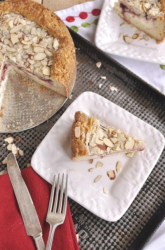 Raspberry Cream Cheese Coffee Cake - your homebased mom