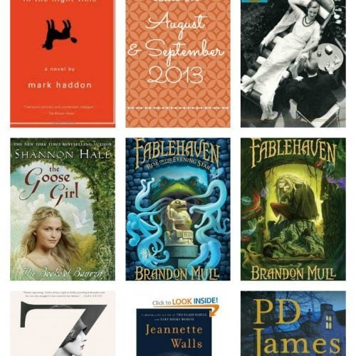 August and September 2013 Recommended Reads