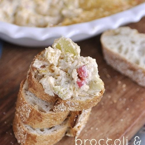 Broccoli & Artichoke Dip