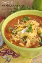 Chicken Enchilada Soup
