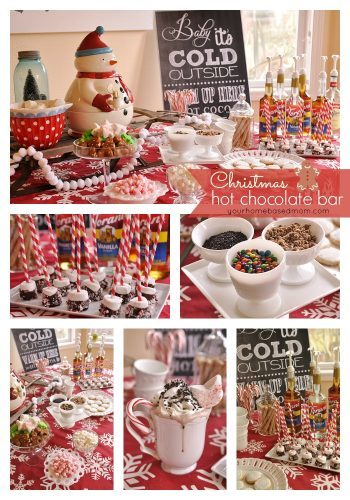 Christmas Hot Chocolate Bar Your Homebased Mom