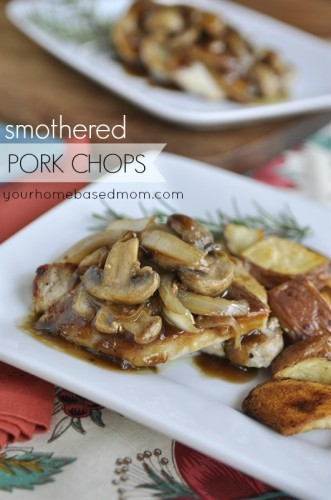 smothered pork chops your homebased mom