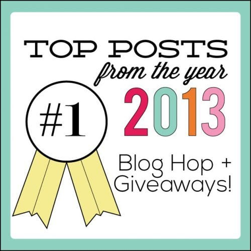 Top Recipes of 2013 and a Giveaway