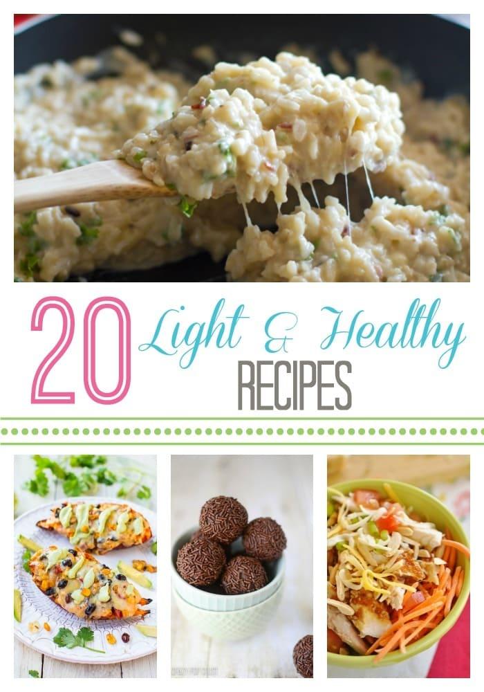 20 Light & Healthy Recipes
