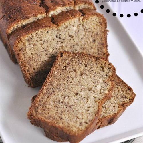 The Best Gluten Free Banana Bread