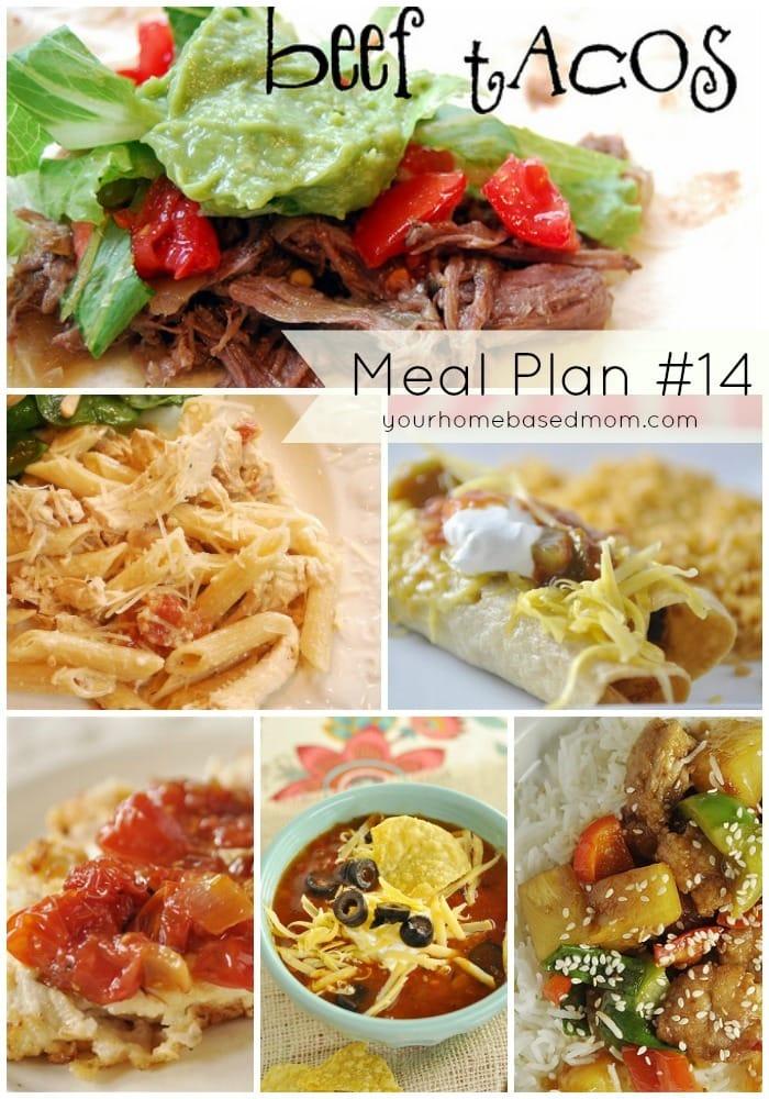 Meal Plan #14