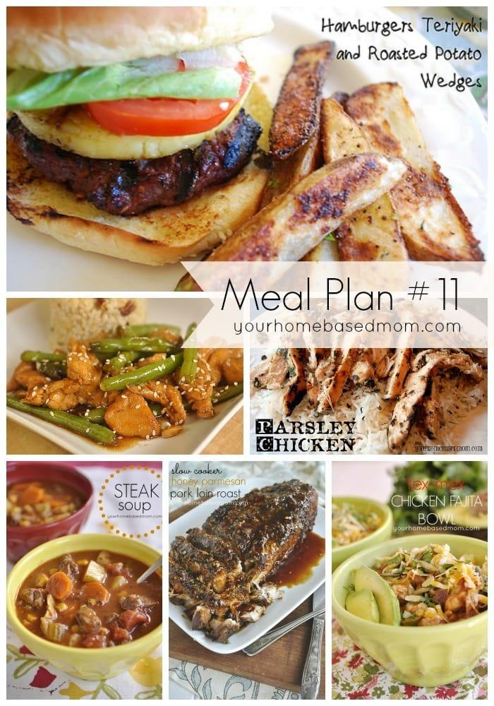 Meal plan #11