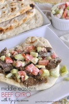 Middle Eastern Beef Gyro