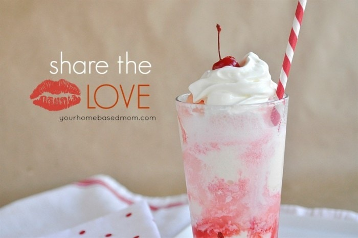 Vanilla Cherry and Chocolate Cherry Ice Cream Floats