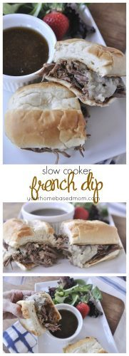 slow cooker french dip