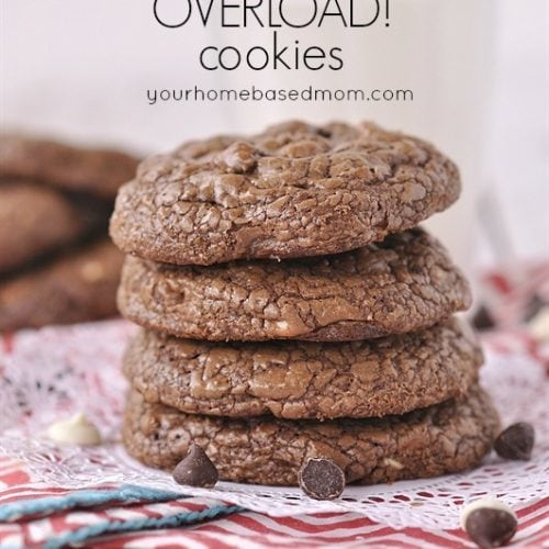 Chocolate Cookies – a Chocolate Overload Cookie!