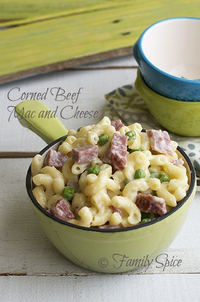 Corned Beef Mac and Cheese