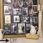 DIY Family Tree Chalkboard