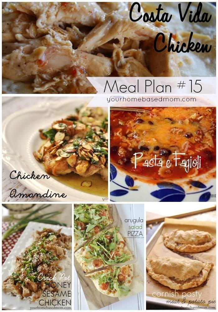 Meal Plan #15