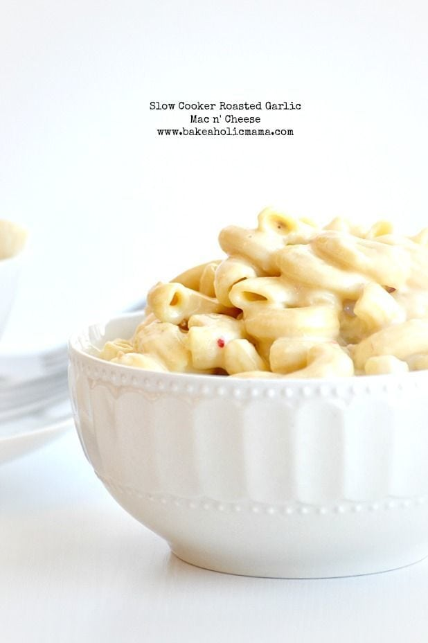 Roasted Garlic Mac 'n' Cheese