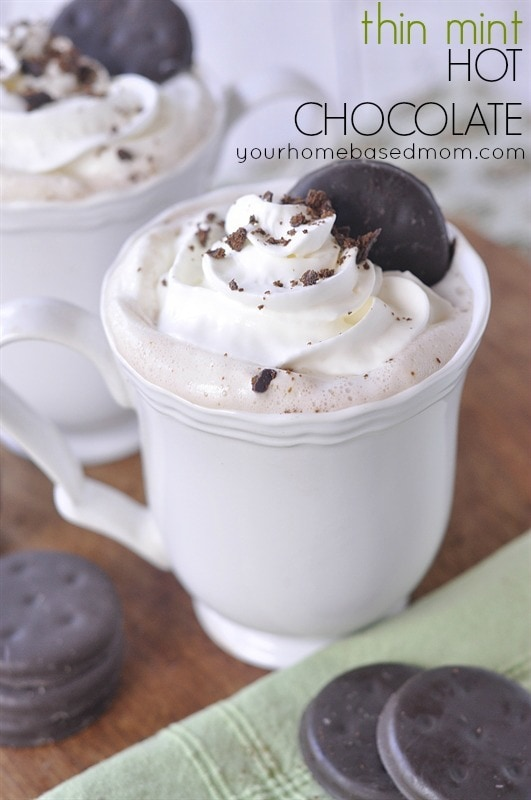 Thin MInt Hot Chocolate