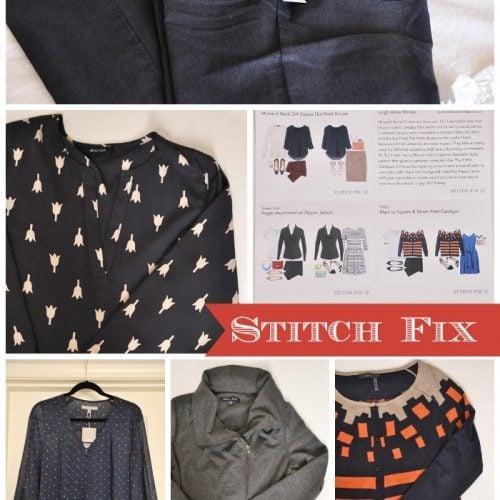 My Stitch Fix – January