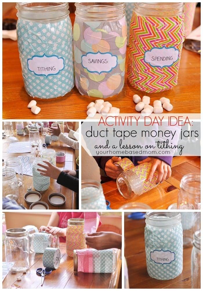 Duct Tape Jars