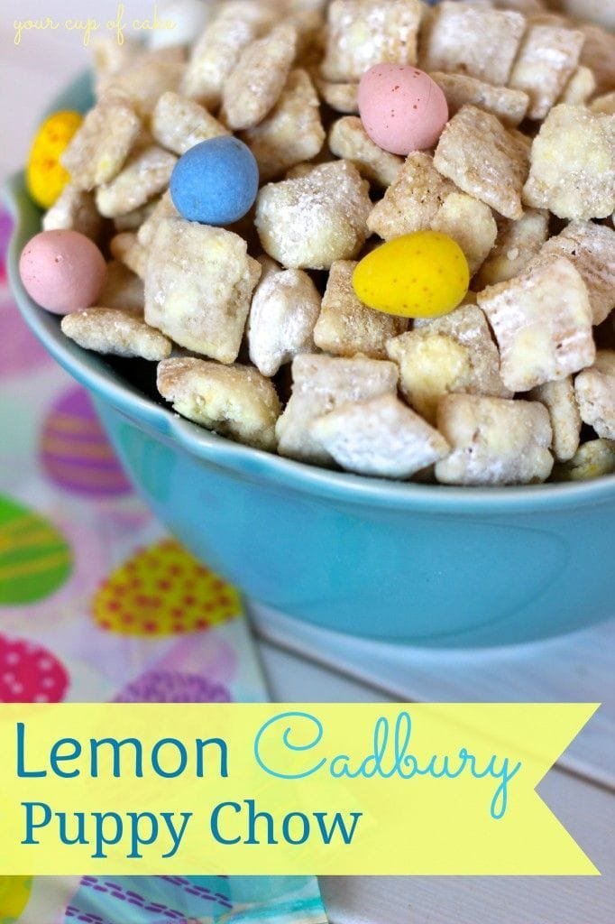 Lemon Cadbury Puppy Chow