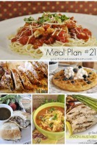 What's For Dinner}Meal Plan #21