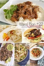 What's for Dinner}Weekly Meal Plan #22