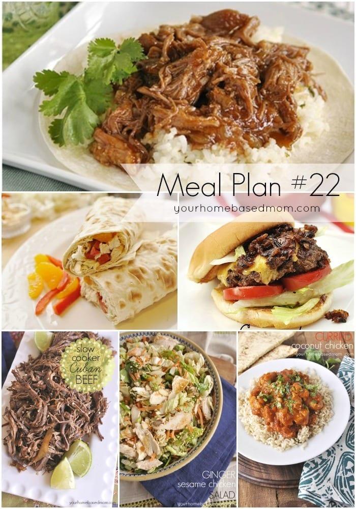 Meal Plan #22