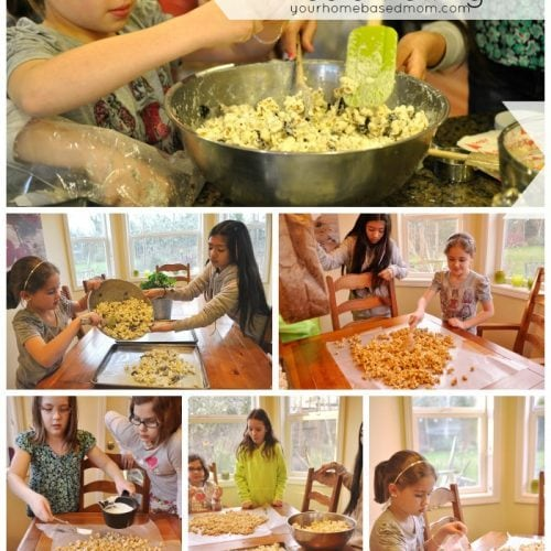 Popcorn Making & Media Viewing}Activity Day Idea