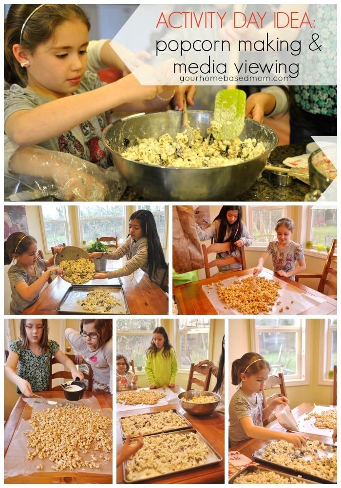 popcorn making